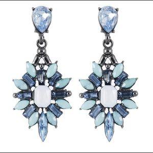 Blue Celestial Earrings